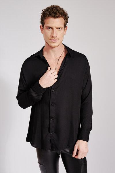 Camisa Essencial em Viscose Acetinada