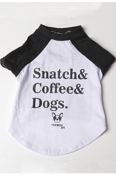 Tee SNATCH, COFFEE AND DOGS