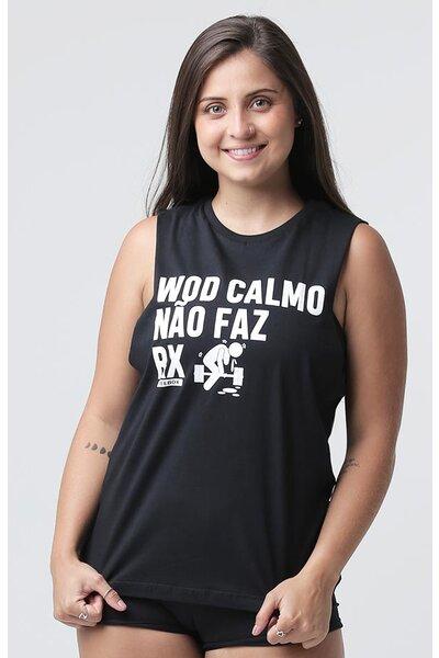 Cavada Feminina Teebox WOD RX Preta