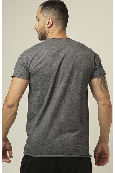 Camiseta masculina Teebox VIDA DE CROSSFITEIRO offwhite