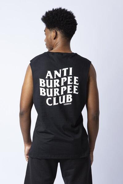 Cavada masculina Teebox Anti Burpee Club