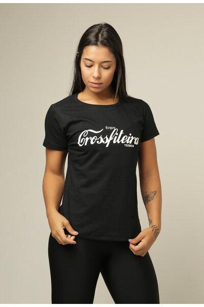 Camiseta Babylook Teebox CROSSFITEIRA