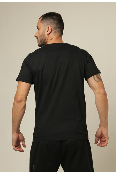 Camiseta masculina Teebox WALL BALL HATERS preta