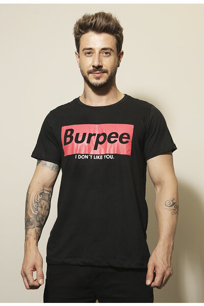 Camiseta masculina Teebox BURPEE SUPREMO