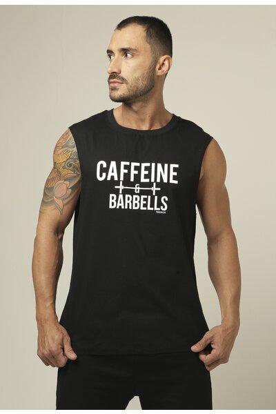 Cavada Masculina Teebox CAFFEINE AND BARBELLS