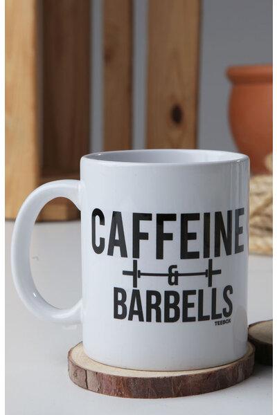Caneca CAFFEINE AND BARBELLS