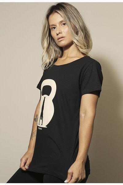 Camiseta Babylook Teebox KETTLEBELL