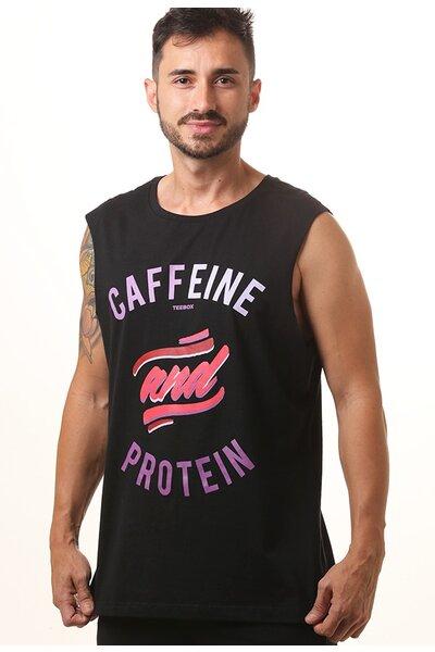 Cavada masculina CAFFEINE AND PROTEIN