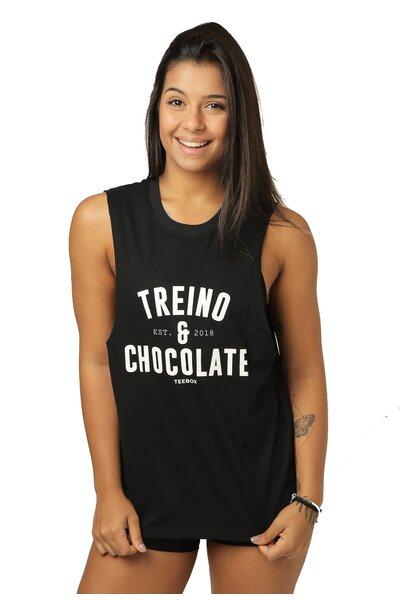 Cavada Feminina Teebox TREINO E CHOCOLATE