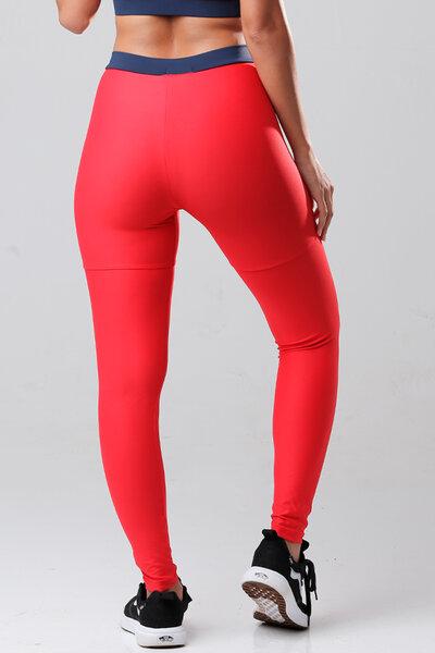 Calça legging vermelha ADAMS teebox