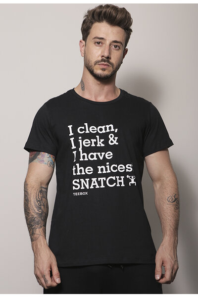 Camiseta masculina Teebox SNATCH