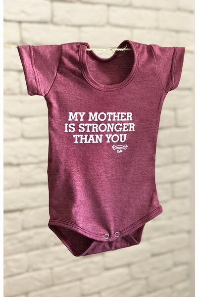 BODY infantil MY MOM IS STRONGER THAN YOU