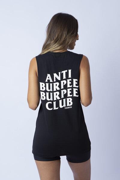 Cavada feminina Teebox Anti Burpee Club
