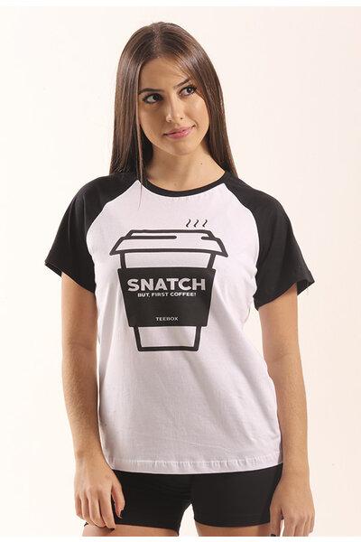 Babylook SNATCH COFFEE raglan