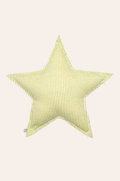 Almofada Estrela com Estampa Listrada