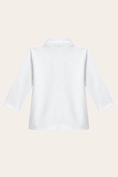 Camiseta Polo Piquet Manga Longa