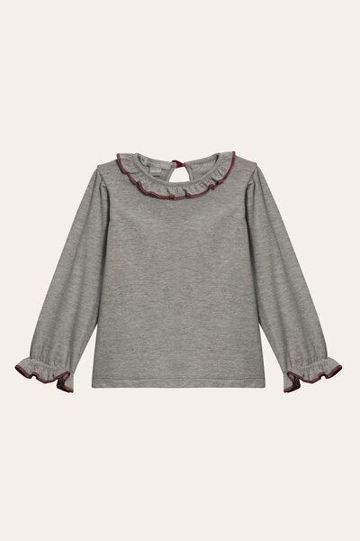 Camiseta Frufru Manga Longa