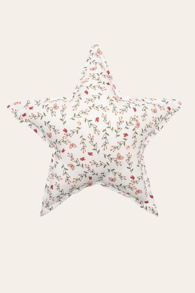 Almofada Estrela Jardim Borboletas