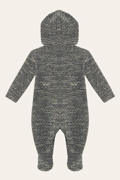 Macacão Tweed Capuz