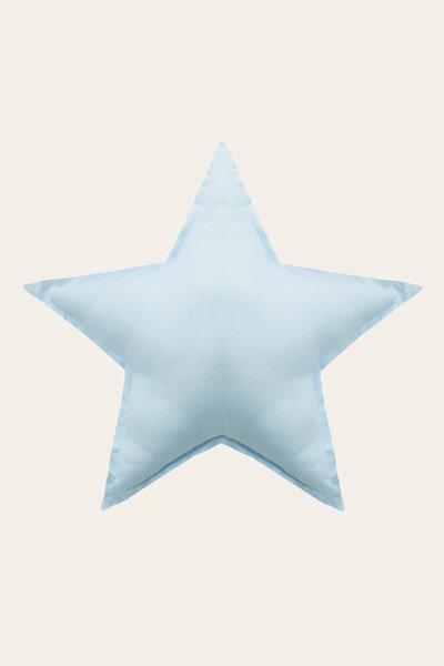 Almofada Estrela Com Estampa Poá