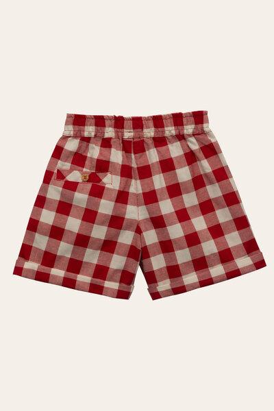 Shorts Milu Vichy Vermelho