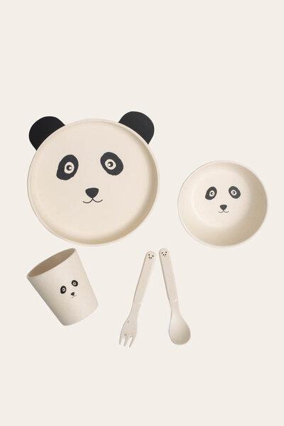 Conjunto Pratinho Panda