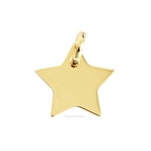 Pingente Fun Estrela Ouro