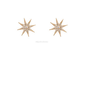 Brinco Estrela Shine Ouro