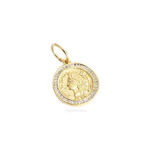 Pingente Medalha Indio