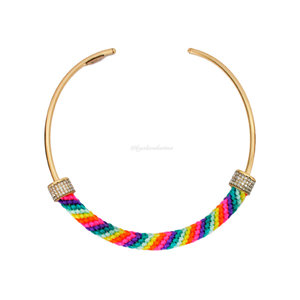 Choker Noronha Hippie Summer Gold