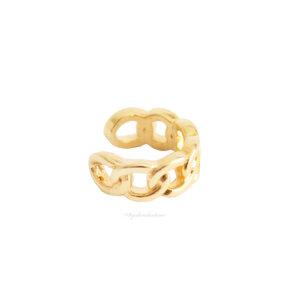 Piercing Fake Chain - Ouro (UNITÁRIO)