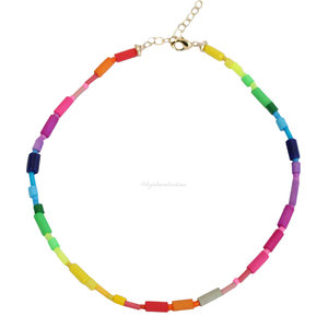 Colar Fun Trend Colors Rainbow
