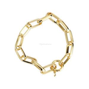 Pulseira Cartier Oval Locker - Ouro 18k