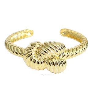 Bracelete Nó Vintage Ouro 18k