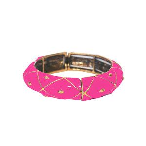 Pulseira Esmaltada Pink - 2