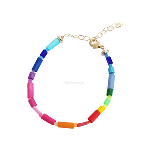 Pulseira Fun Trend Colors Rainbow