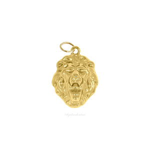 Pingente Leão Ouro