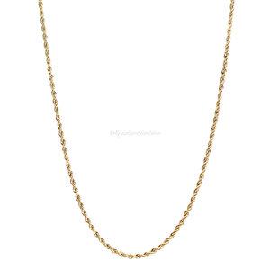Colar Corrente Longa Elo Baiano - Ouro