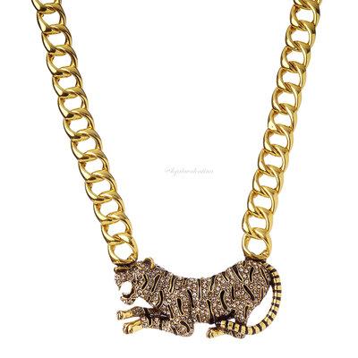 Colar Luxo Leopardo - NÁDIA GIMENES