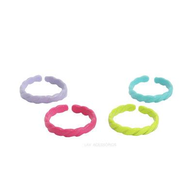 Anel Pop Colors - Ajustável