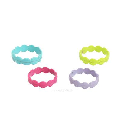 Anel Pop Colors - Waves