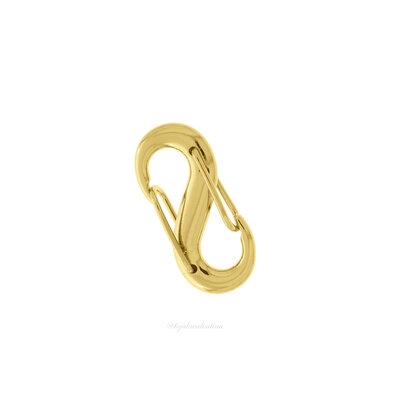 Pingente Mosquetão Locker S Dourado