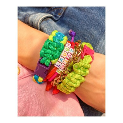 Pulseira Macrame Summer Colors - RAINBOW