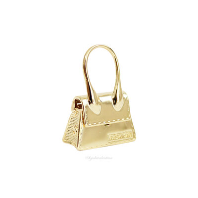 Pingente Trend Bag Ouro