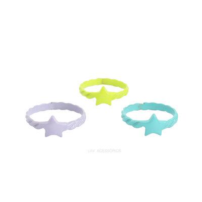 Anel Pop Colors - Estrela