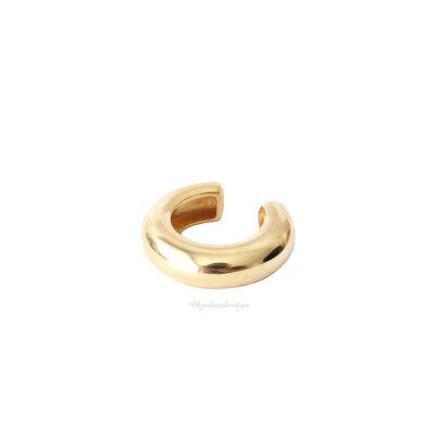 Piercing Fake Tubo Liso Ouro (Unitário)