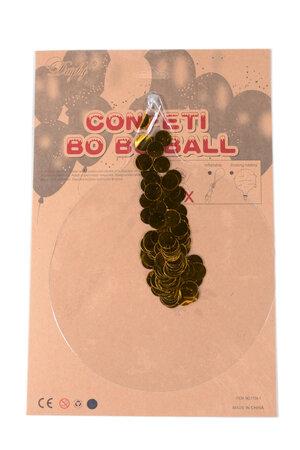 Balão Bubble Clear com Confete