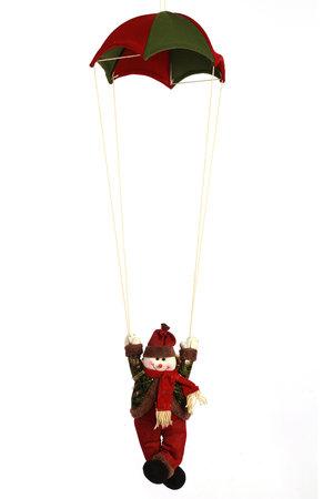 Boneco de Neve no Paraquedas