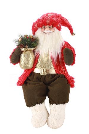Boneco Papai Noel Luxo Sentado