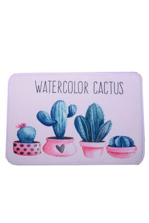 Tapete Cactus Aquarela